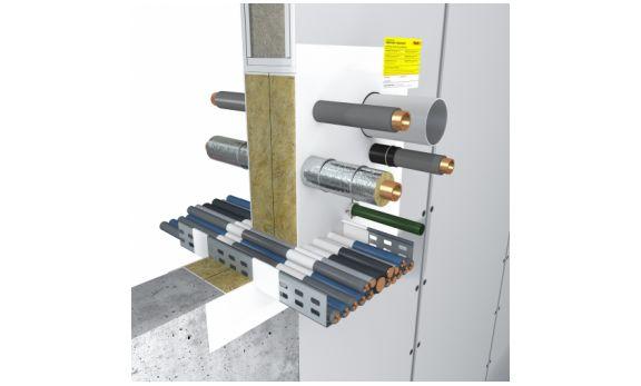 Hensomastik Mixed Penetration Seal EI90/EI120 System